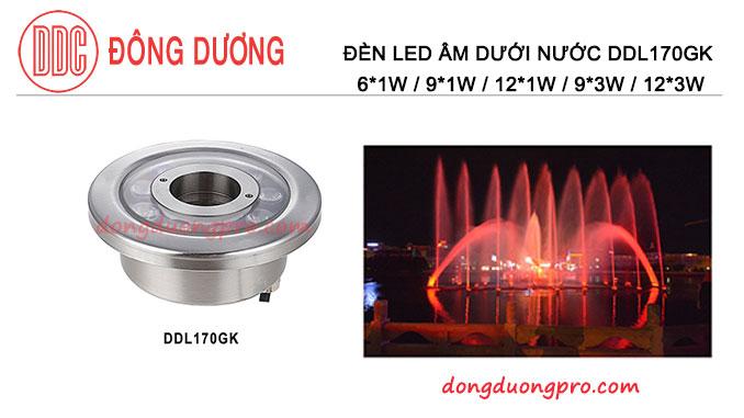 Đèn led dưới nước 12w DDL170GK